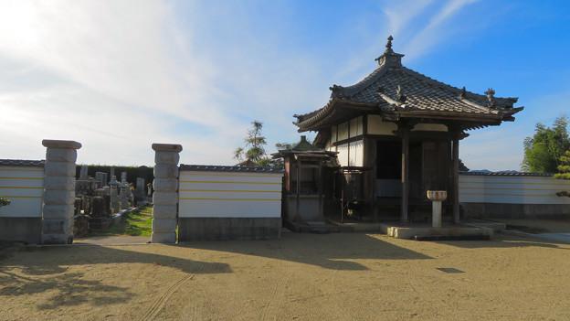 中山道 間の宿 新加納 No - 27:少林寺の本堂横にあるお堂