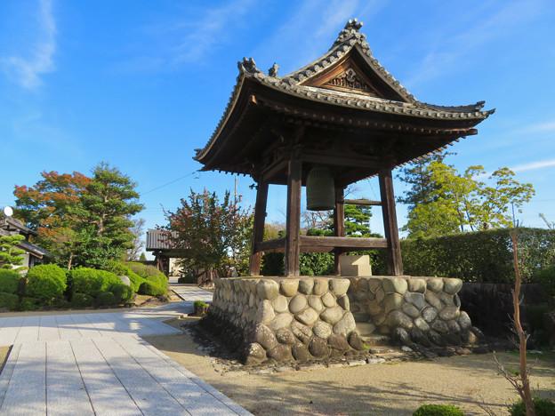 中山道 間の宿 新加納 No - 31:少林寺の鐘つき堂