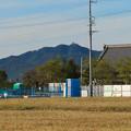 Photos: 各務原市内西部(那加新加納町)から見た岐阜城・金華山 - 1