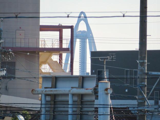 各務原市西部(那加新加納町)から見たツインアーチ138 - 1