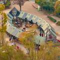 オアシスホイールから見た景色:オアシスパーク No - 4(さかなの遊具)