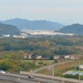 Photos: オアシスホイールから見た景色:岐阜かかみがはら航空宇宙博物館方面