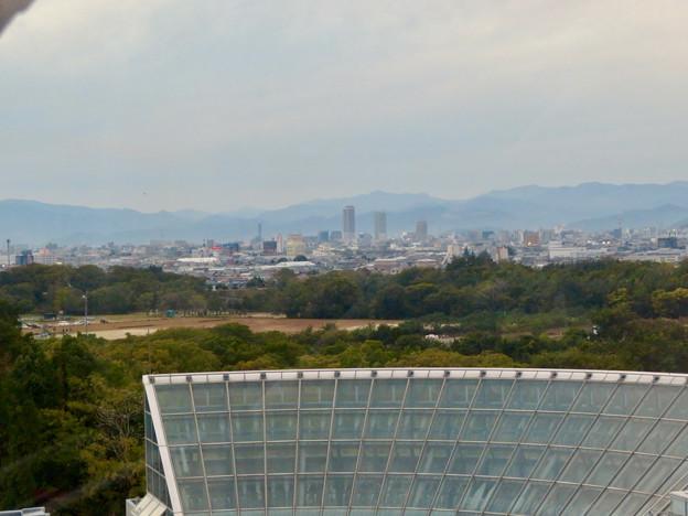 オアシスホイールから見た景色:岐阜駅周辺のビル群 No - 1