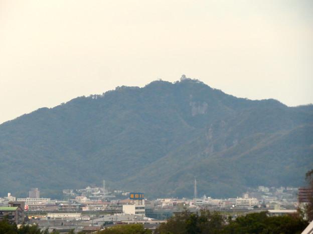 オアシスホイールから見た景色:岐阜城・金華山 No - 2