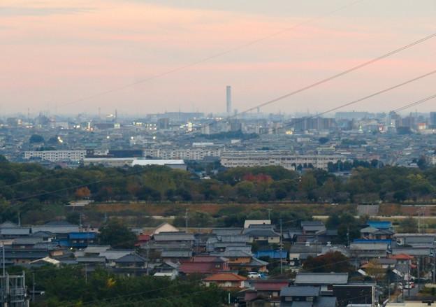 オアシスホイールから見た景色:三菱電機稲沢製作所エレベーター試験棟 No - 1
