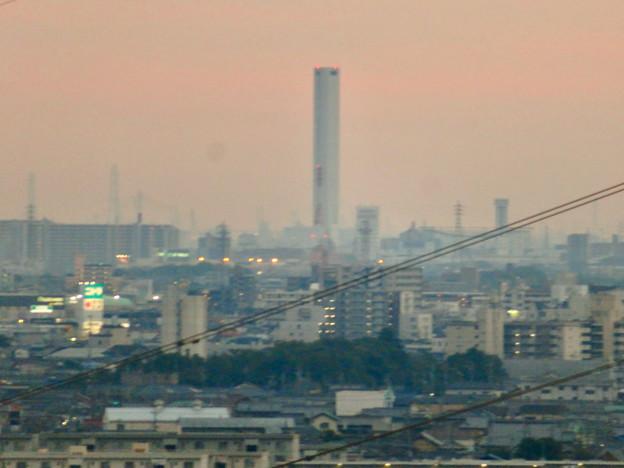 オアシスホイールから見た景色:三菱電機稲沢製作所エレベーター試験棟 No - 2