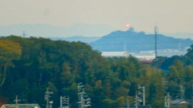 オアシスホイールから見た景色:小牧山 No - 1