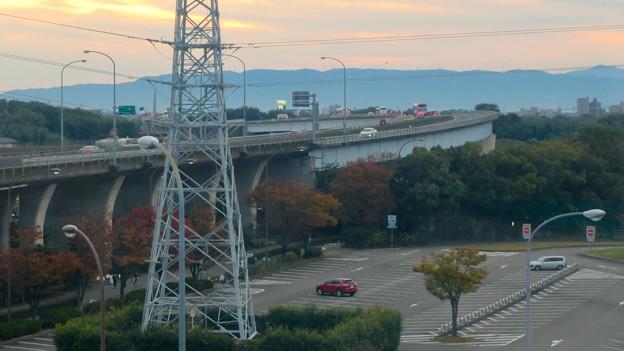 オアシスホイールから見た景色:東海北陸自動車道 No - 2