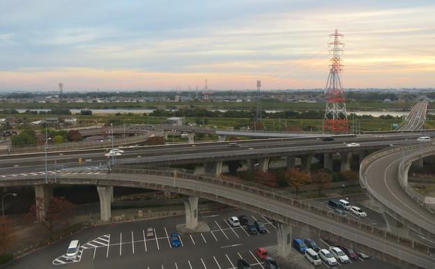 オアシスホイールから見た景色:東海北陸自動車道 No - 3