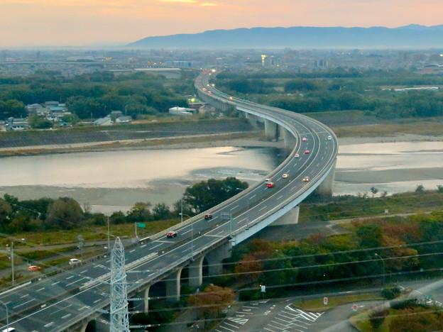 オアシスホイールから見た景色:東海北陸自動車道 No - 5