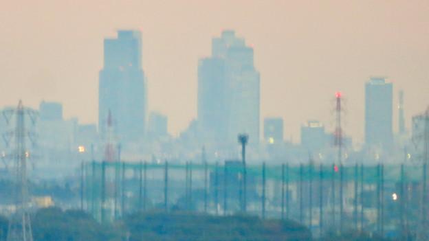 オアシスホイールから見た景色:名駅ビル群 No - 1