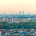 オアシスホイールから見た景色:名駅ビル群 No - 3