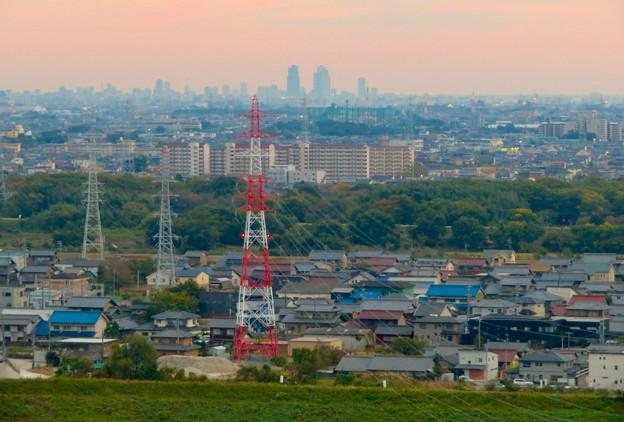 オアシスホイールから見た景色:名駅ビル群 No - 6