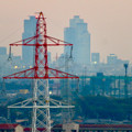 オアシスホイールから見た景色:名駅ビル群 No - 8