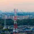 オアシスホイールから見た景色:名駅ビル群 No - 9