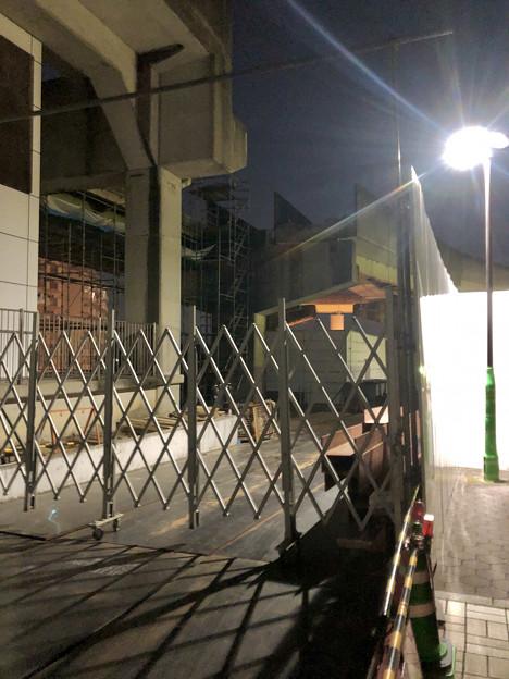 Photos: 桃花台線の桃花台東駅周辺撤去工事(2019年11月12日):高架の片側のみが撤去 - 4