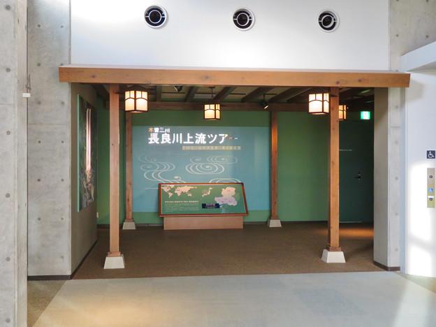 アクア・トトぎふ No - 11:最初に案内される4階「長良川上流ツアー」ゾーン