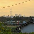 瀬戸市内から見えた名駅ビル群 - 1