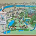 Photos: 高蔵寺駅に設置されてた「しだみ古墳群」の案内 - 2:地図