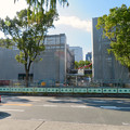 Photos: リニューアル工事中の久屋大通公園(2019年11月16日)- 1:建設中の建物