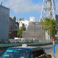 Photos: リニューアル工事中の久屋大通公園(2019年11月16日)- 3:テレビ塔の周りにも建物?それとも単なる工事用??