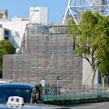 Photos: リニューアル工事中の久屋大通公園(2019年11月16日)- 4:テレビ塔の周りにも建物?それとも単なる工事用??