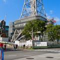 Photos: リニューアル工事中の久屋大通公園(2019年11月16日)- 6:テレビ塔の周りにも建物?それとも単なる工事用??