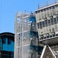 Photos: リニューアル工事中の久屋大通公園(2019年11月16日)- 9:テレビ塔の周りにも建物?それとも単なる工事用??