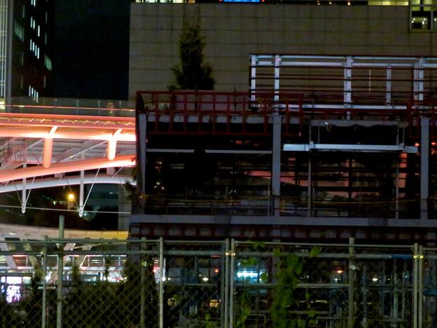 リニューアル工事中の久屋大通公園(2019年11月16日)- 13:建設中の建物