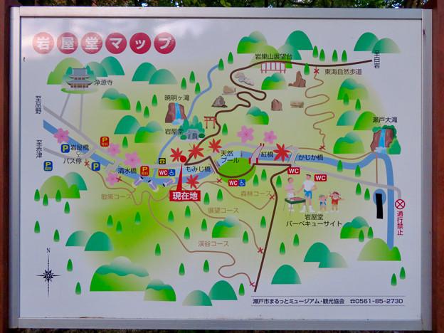岩谷堂公園の案内図 - 1