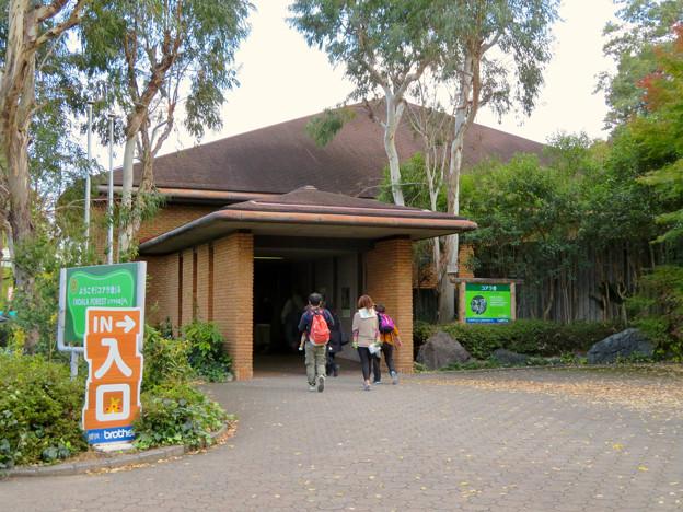 東山動植物園のコアラ舎 - 1:入り口