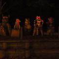 Photos: 東山動植物園 紅葉ライトアップ(2019年11月17日)- 23:謎の像