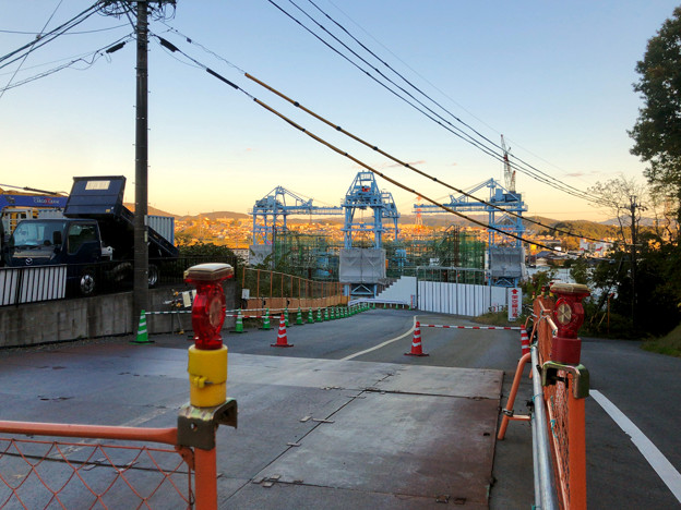 建設中のリニア中央新幹線の非常口(2019年11月20日)- 1