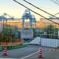 Photos: 建設中のリニア中央新幹線の非常口(2019年11月20日)- 2
