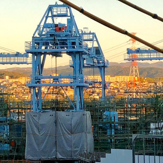 建設中のリニア中央新幹線の非常口(2019年11月20日)- 4