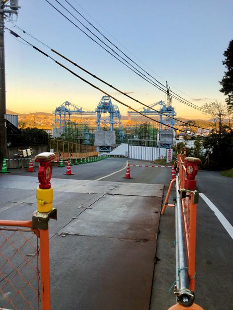 建設中のリニア中央新幹線の非常口(2019年11月20日)- 5