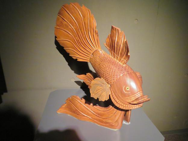 アクア・トトぎふ No - 115:『鬼灯の冷徹』の金魚草みたいな金魚のオブジェ