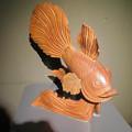 Photos: アクア・トトぎふ No - 115:『鬼灯の冷徹』の金魚草みたいな金魚のオブジェ