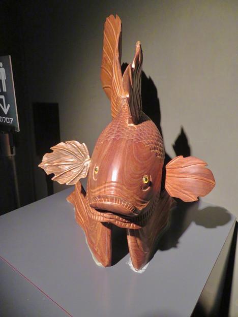 アクア・トトぎふ No - 116:『鬼灯の冷徹』の金魚草みたいな金魚のオブジェ