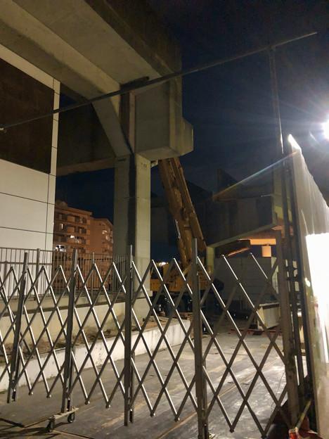 Photos: 桃花台線の桃花台東駅周辺撤去工事(2019年11月28日)- 6