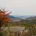 定光寺展望台から見た景色(2019年11月) - 6:名古屋方面