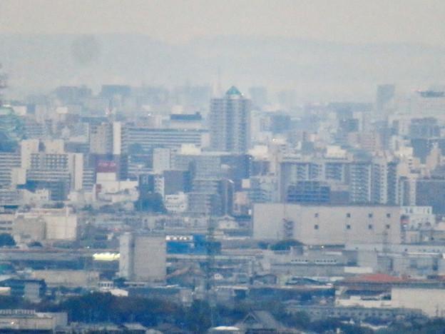 定光寺展望台から見た景色(2019年11月) - 8:アンビックス志賀ストリートタワー