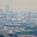 定光寺展望台から見た景色(2019年11月) - 10:名古屋城とアンビックス志賀ストリートタワー