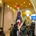 Photos: ムーミンに出てきそうなキャラになってた名鉄百貨店開店65周年PRのナナちゃん人形 - 3