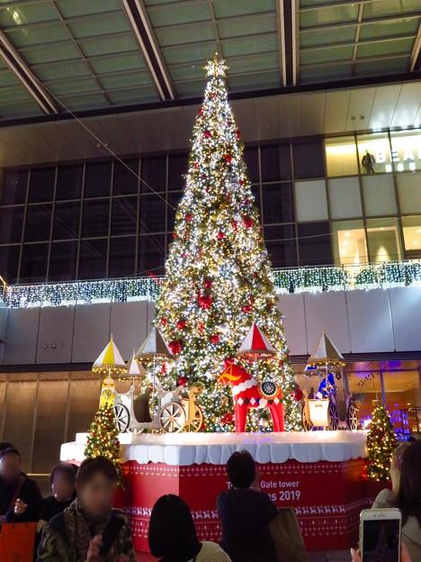 Photos: ゲートタワー前のクリスマスツリー 2019 No - 2
