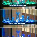 Photos: 色が変わるミッドランドスクエア入り口のイルミネーション - 5