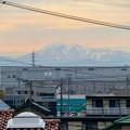 Photos: 小牧原駅から見えた雪を頂く伊吹山(2019年12月7日)- 3