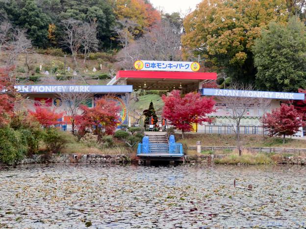 日本モンキーパークの入り口 - 2