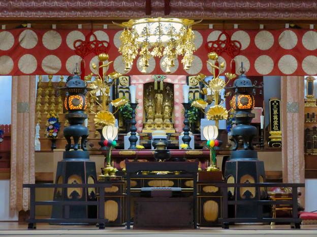 犬山善光寺 No - 10:本堂内の仏像