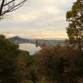 犬山善光寺の開けた所から見えた景色 No - 1:西側